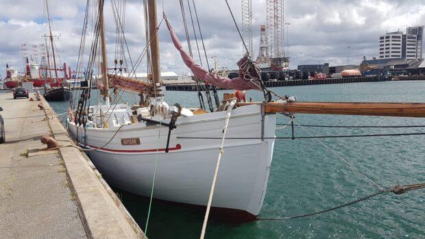 """På havet med """"Alvilde"""" den 30.08"""